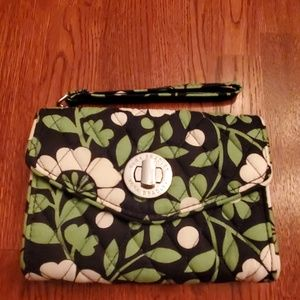 Vera Bradley Turnlock Wristlet Wallet